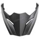 Matte Black Visor for Metro EVO Helmets - 03-177