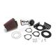 Chrome High Performance Cone Air Intake Kit - 606-0101-06
