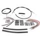 Black Vinyl XR Handlebar Installation Kit for use w/12