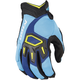Blue/Light Blue Dakar Gloves