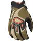 Green/Tan Dakar Gloves