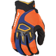 Orange/Blue Dakar Gloves
