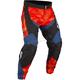 Orange/Black/Blue Dakar In-the-Boot Pants