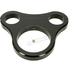 Gloss Black 1 1/4 in. T-Bar Single Gauge Mount for Mini Gauges - 2201-0202