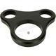 Flat Black 1 1/4 in. T-Bar Single Gauge Mount for Mini Gauges - 2201-0203