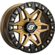 Bronze Front/Rear Split 6 Beadlock 14x7 Wheel w/12mm Tapered Lug - A72BZ-47037-52S