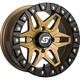 Bronze Front/Rear Split 6 Beadlock 14x10 Wheel w/12mm Tapered Lug - A72BZ-41037-55S