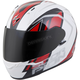 White/Red EXO-R320 Endeavor Helmet