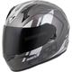 Gray/Silver EXO-R320 Endeavor Helmet