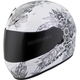White EXO-R320 Dream Helmet