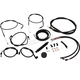 Midnight Stainless Complete Handlebar Cable Kit for 15
