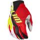 Red/Black/White XC Lite Gloves