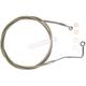 Natural XR Stainless Extreme Response ABS Upper Brake Line Kit - Stock Length - SSC1401-64