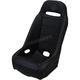 Black Extreme Straight Stitch Seat  - EXBUBKSTR