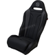 Black/Gray Performance Double T Stitch Seat  - PEBUGYDTR