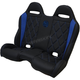 Black/Blue Performance Diamond Stitch Bench Seat  - PEBEBLBDR