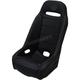 Black Extreme Straight Stitch Seat  - EXBUBKSTC
