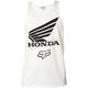 White Honda Premium Tank Top
