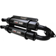 Black Stage 5 Dual Exhaust Slip-On Mufflers - TR-4118-CB