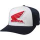Midnight Honda FlexFit Hat
