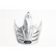 Metallic Silver Visor for Hornet X2 Helmet - 0224-6001-07