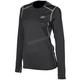 Women's Black Solstice 1.0 Base Layer Shirt