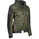 Women's Olive/Black Double Take Textile Jacket