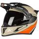 Sand/Orange Krios Karbon Adventure Valiance Helmet