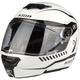 Flat White TK1200 Karbon Traverse Modular Helmet
