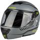 Flat Gray TK1200 Karbon Traverse Modular Helmet
