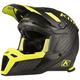 Matte Black Carbon/Hi-Vis F5 Koroyd Abyss Helmet