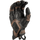 Black/Brown Badland Aero Pro Short Gloves