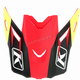 Red/Black Ripper Visor for F3 Helmets - 3866-000-000-010