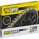 520 Gold U-Ring Pro Series MX Forged Racing Chain - PT520FWR-120