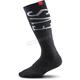Black Coolmax Moto Socks