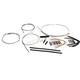 Stainless XR Handlebar Installation Kit for use w/15