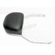 Chrome Detachable Mini Backrest Kit - 602-2024