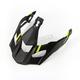 Matte Black/Hi-Vis Vanquish Krios Replacement Visor - 3808-000-000-005