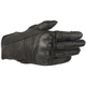 Black Mustang V2 Leather Gloves