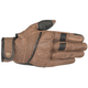 Brown/Black Crazy 8 Leather Gloves