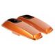 Amber Whiskey Saddlebag Speaker Lids - HW153009