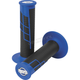Blue/Black Clamp-On 1/2 Waffle Grips - 021663