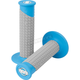 Neon Blue/Gray Clamp-On Pillow Top Grips - 021672
