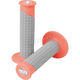 Neon Red/Gray Clamp-On Pillow Top Grips - 021676