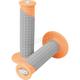 Neon Orange/Gary Clamp-On Pillow Top Grips - 021677