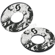 Black/White Tattoo Grip Donuts - 265517-1007222
