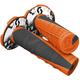 Neon Orange/Black Deuce 2 Grips w/Donut - 219627-5857