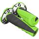 Neon Green/Black Deuce 2 Grips w/Donut - 219627-4376