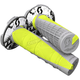 Neon Yellow/Gray Deuce 2 Grips w/Donut - 219627-5776