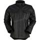 Black The Motz Leather Shirt